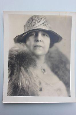 Großes Foto aus dem Nachlass einer Schauspielerin, um 1930