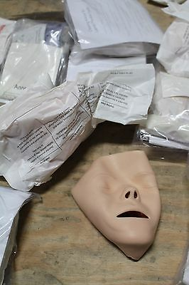 Lot Of 7 New Laerdal Resusci Anne Baby Face Cpr Infant Dummy Manikin