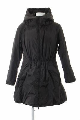 HALLHUBER Daunenmantel schwarz Casual-Look Damen Gr. DE 38 Mantel Coat Down Coat (Down Coat Kapuze Damen)