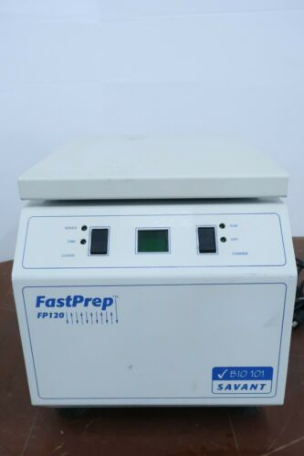 Thermo Savant FastPrep FP120 Cell Disrupter Homogenizer Centrifuge