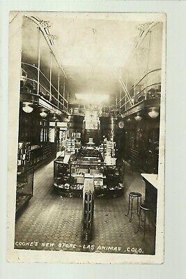 Las Animas COLORADO RP c1910 INTERIOR GENERAL STORE nr Fort Lyon La Junta (Animas Store)