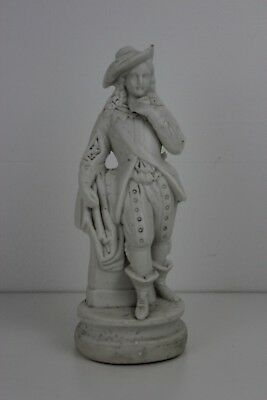 Yearly 19th Century Male Figurine 26cm high ( small chip on the hat )