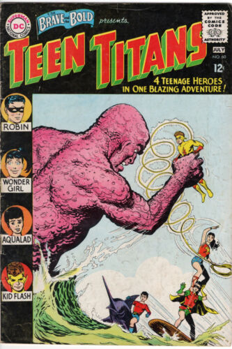 THE BRAVE AND THE BOLD (1955 1st Series) #60 - Grade 5.0 - TEEN TITANS!