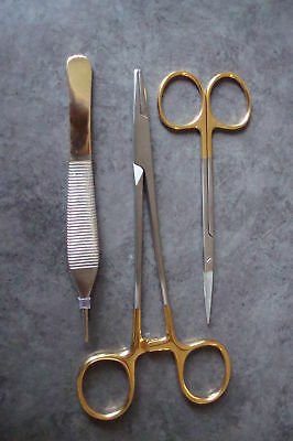 Classic Suture Removal 3pcs Kit Surgical Instruments