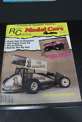 Used, Vintage Radio Control Model Cars April 1988 Reedy Race Big Bear Oval Conversion for sale  Los Angeles
