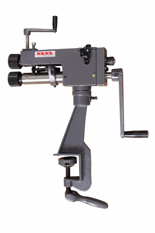 KAKA Industrial RM-08, 7-In Bead Roller Sheet Metal Forming and Steel Bender