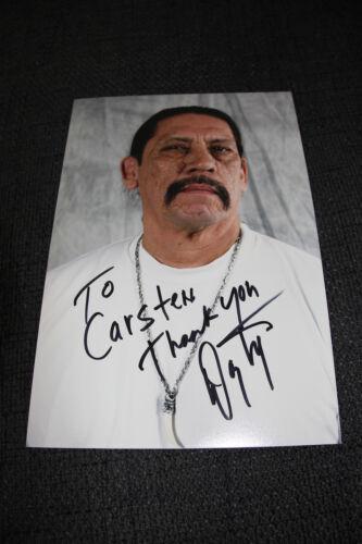 DANNY TREJO signed Autogramm auf 20x30 cm Foto InPerson LOOK