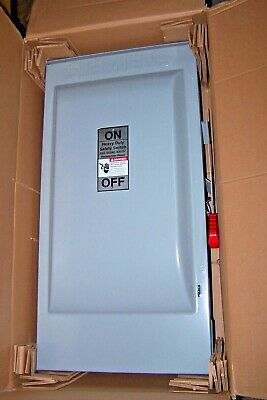 New Siemens 200 Amp Non Fused Safety Switch Disconnect 600 Vac 3p 3r Rainproof