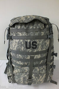 MOLLE-II-LARGE-RUCKSACK-FIELD-PACK-ACU-Digital-Camo-GENUINE-US-Military-VG-EXC