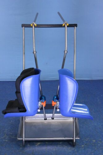 Medical Stirrup Set with Cart O.R. Surgical Table Stirrups with Warranty!!