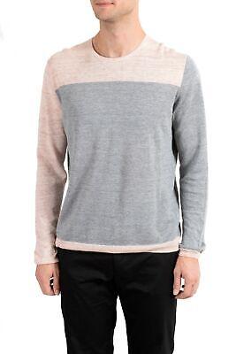 Malo Men's Linen Multi-Color Crewneck Light Sweater US M IT 50