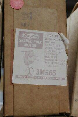 Dayton 3m565 Electric Motor 1125hp 3000rpm 115v Cwse