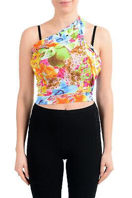 Versace Jeans Couture Women's Multi-Color Blouse Top US XS IT 38