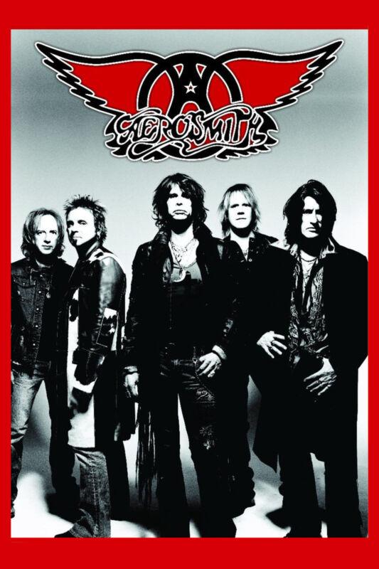 ROCK: Aerosmith Group Photo Poster  12x18