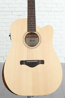 Ibanez Artwood AW150CE 6-string Acoustic-Electric Guitar - Open Pore Natural