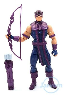 """Marvel Legends 6"""" Inch Vintage Retro Classic Hawkeye Loose Complete"""
