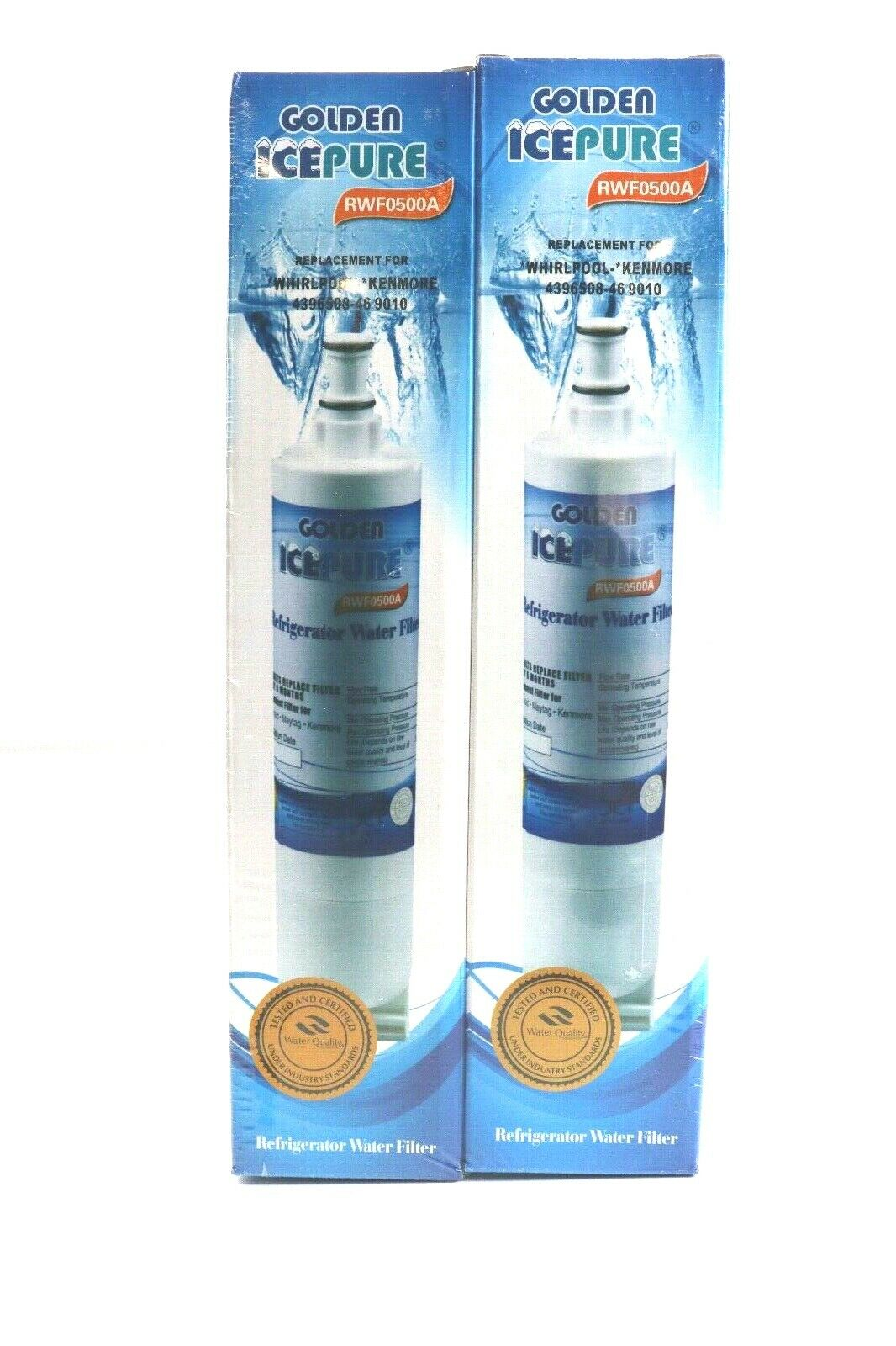 premium refrigerator replacement water filter rwf0500a 2pk