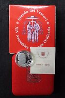Vaticano 2015 5 Euro Ag Pp Be Proof Sinodo Dei Vescovi -  - ebay.it