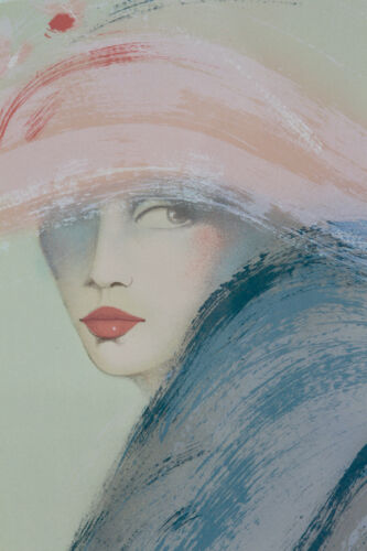 """Victoria Montinsenos """"Woman Triptych"""" Set of 3 Signed Serigraphs"""