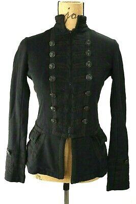Denim & Supply Ralph Lauren Military Band Anchor Buttons Zip Jacket Womens S Banded Zip Jacket