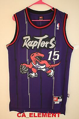 Nike NBA Toronto Raptors Vince Carter Hardwood Classic Throwback Swingman Jersey