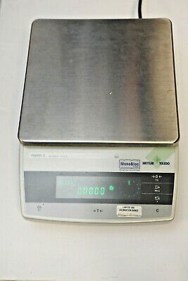Mettler Toledo Pg8001-s Precision Balance Scale Max 8100g D0.1g Used