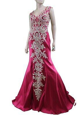 Abito da Cerimonia Donna MoriLee r Evening Cocktail Dress Elegant Taglia 44...