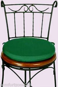 Round Dining Chair Cushion Pad Garden Furniture 13 EBay
