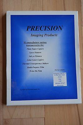 Overhead Copier Transparency Film - Overhead Transparency Film for Laser Printers & Copier 10-101 8.5