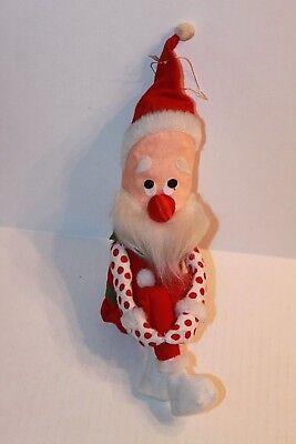 Santa Claus Elf (Vintage Santa Claus Christmas Knee Hugger Elf Bayersdorfer)