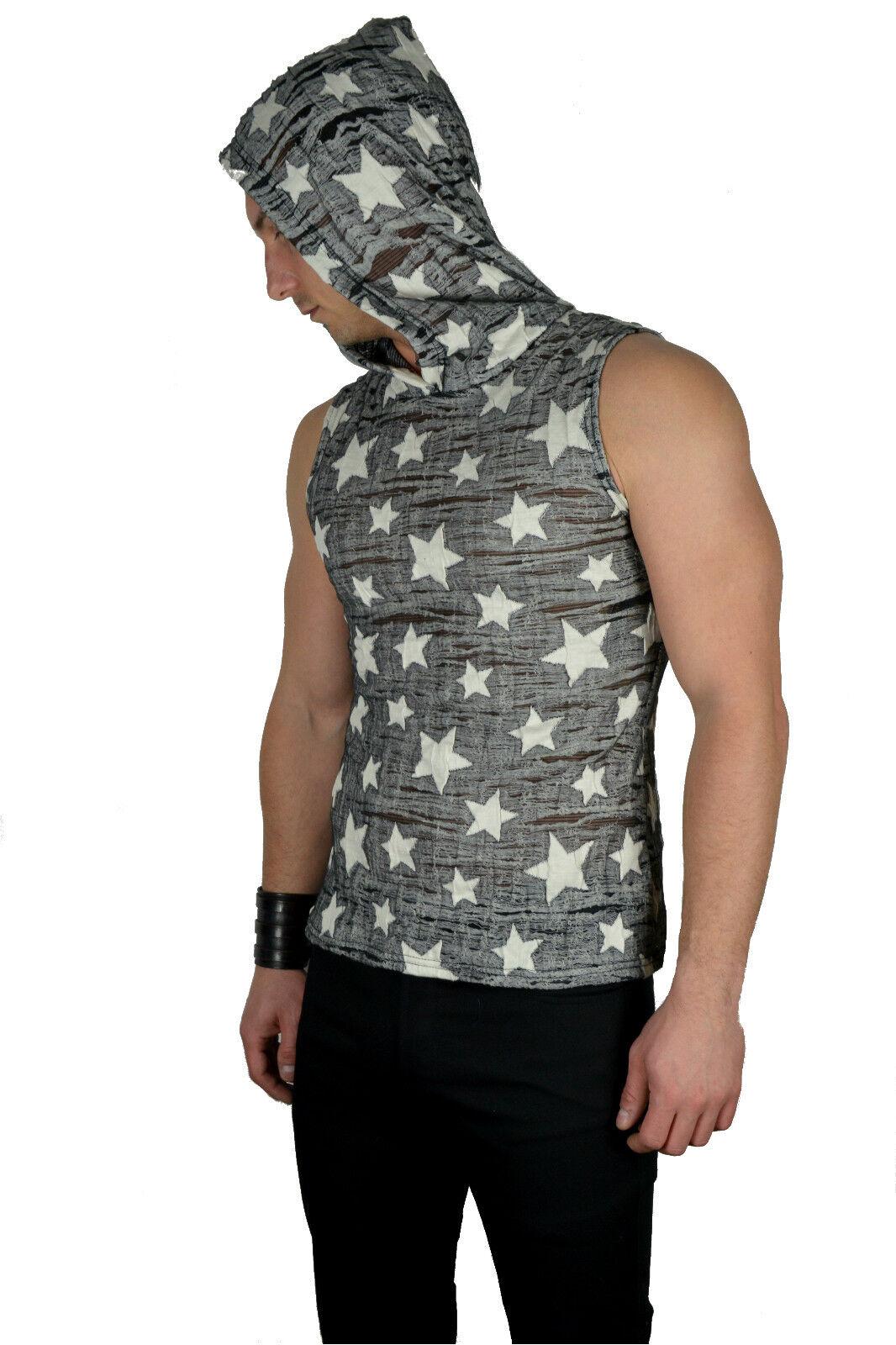 SHRINE DECAYED STARS ROCK GOTHIC CYBER PUNK GOTH STEAMPUNK SHIRT HOODIE ZOMBIE Activewear