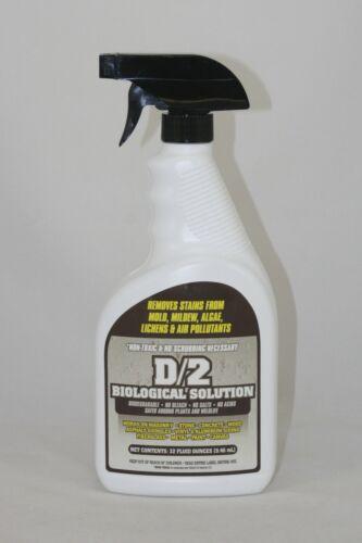 D/2 Biological Solution - 1 Quart in Reusable Spray Bottle