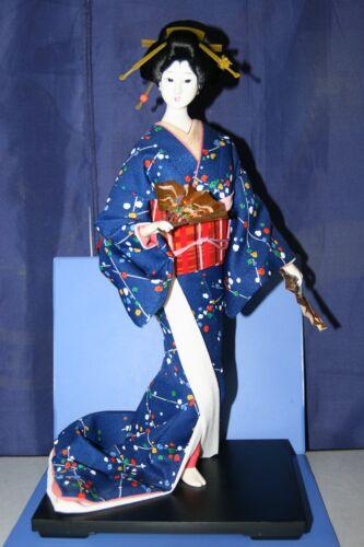 JAPANESE DOLL Geisha Sensu 72