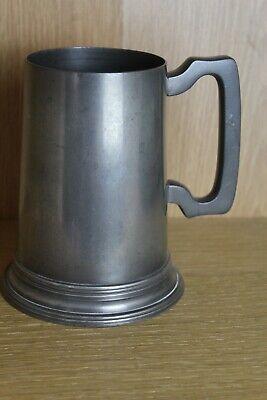 James Dixon & Sons Sheffield 576, Cornish pewter 1 pint tankard