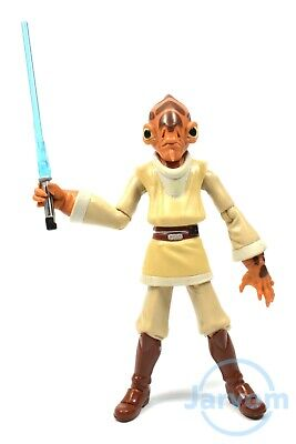 Star Wars Clone Wars Mail Away Exclusive Nahdar Vebb Jedi Loose Complete