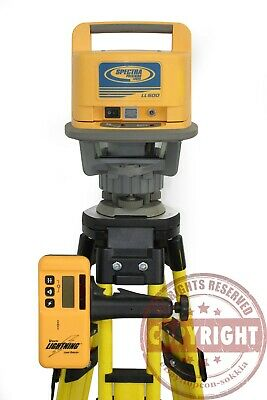 Spectra Precision Ll500 Rotary Laser Level Transit Laserplanetopcontrimble