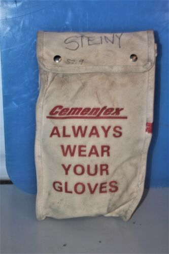 Cementex Canvas Bag and Gloves