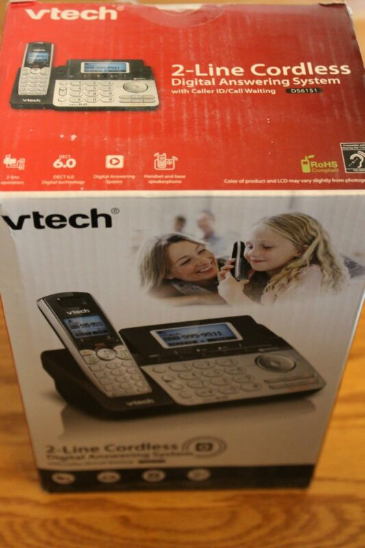 VTech DS6151 2-Line Expandable Phone See pictures for details