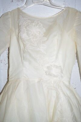Alfred Angelo Bridal wedding dress Gown Edythe Vincent Vintage Rare Beauty!