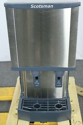 Used Scotsman Hid312a-1 Nugget Ice Machinedispenser 260 Lb Capacity