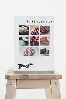 Beachbody - Insanity - Elite Nutrition - Meal plan Fitness Guide