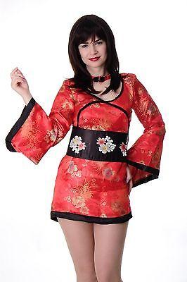 DRESS ME UP - Kostüm Damen Damenkostüm China - Kimono Girl Kostüm