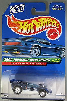 Hot Wheels 1:64 Scale 2000 Treasure Hunts Series CHAPARRAL 2 (BLUE)