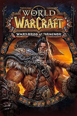RGC Huge Poster - World of Warcraft Warlords of Draenor BOX ART WOW PC -