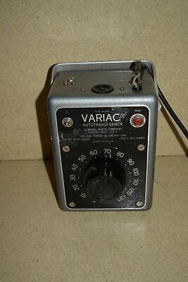 General Radio Co Variac Autotransformer Type W10mt