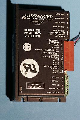Advanced Motion Controls Brushless Pwm Servo Amplifier Bh15a8c