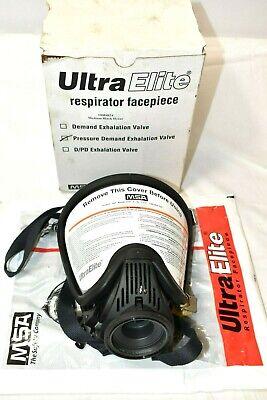 Msa Ultra Elite M7 Facepiece Respiratorpressure Demand Scba Medium New