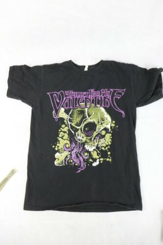 Bullet For My Valentine Black Skull Band T-shirt Size-Small- Nice Graphics
