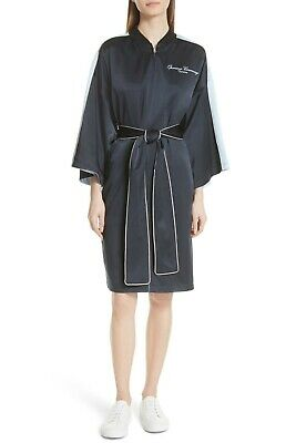 Baseball Robe (Opening Ceremony Reversible Silk Kimono Robe, Baseball collar, Medium, $595, NWT)