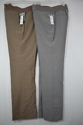 New Extra-Small Duo Maternity Pants, Heather Gray or Safari Taupe  Was $44.00 Duo Maternity Pants
